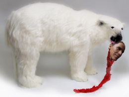 Big Bear devours Obama