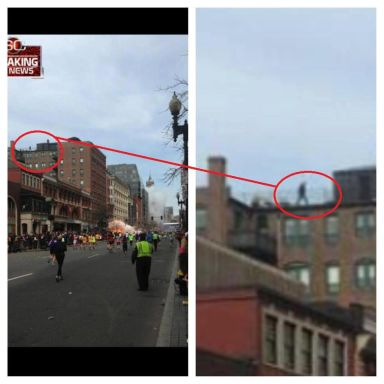 Boston bombings - snipers on rooftops