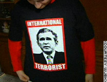 Bush is an international terrorist