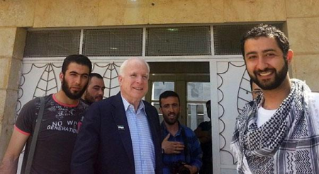 John McCain and ISIS buds