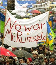 Rumsfeld is a nutcase