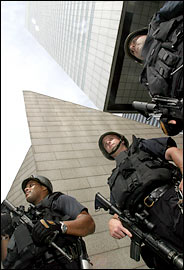 Terrorists guard Citigroup in Midtown Manhattan